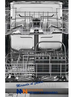 Lavavajillas Zanussi integrable de 45cm para 9 cubiertos