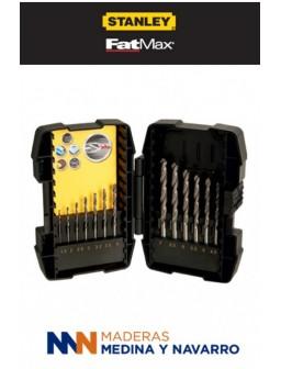 Juego de 19 piezas para taladrar en metal STA88100-XJ