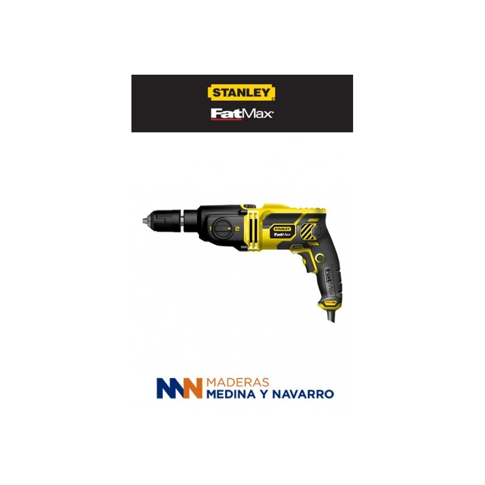 Taladro percutor 2 velocidades Stanley FME142K