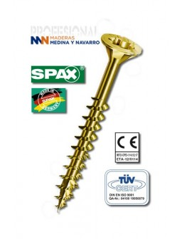 Tornillo ABC SPAX T-Star Plus Bicromatado