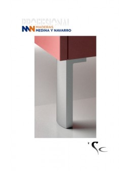 Pata aluminio para mueble SC Herrajes Mod 21