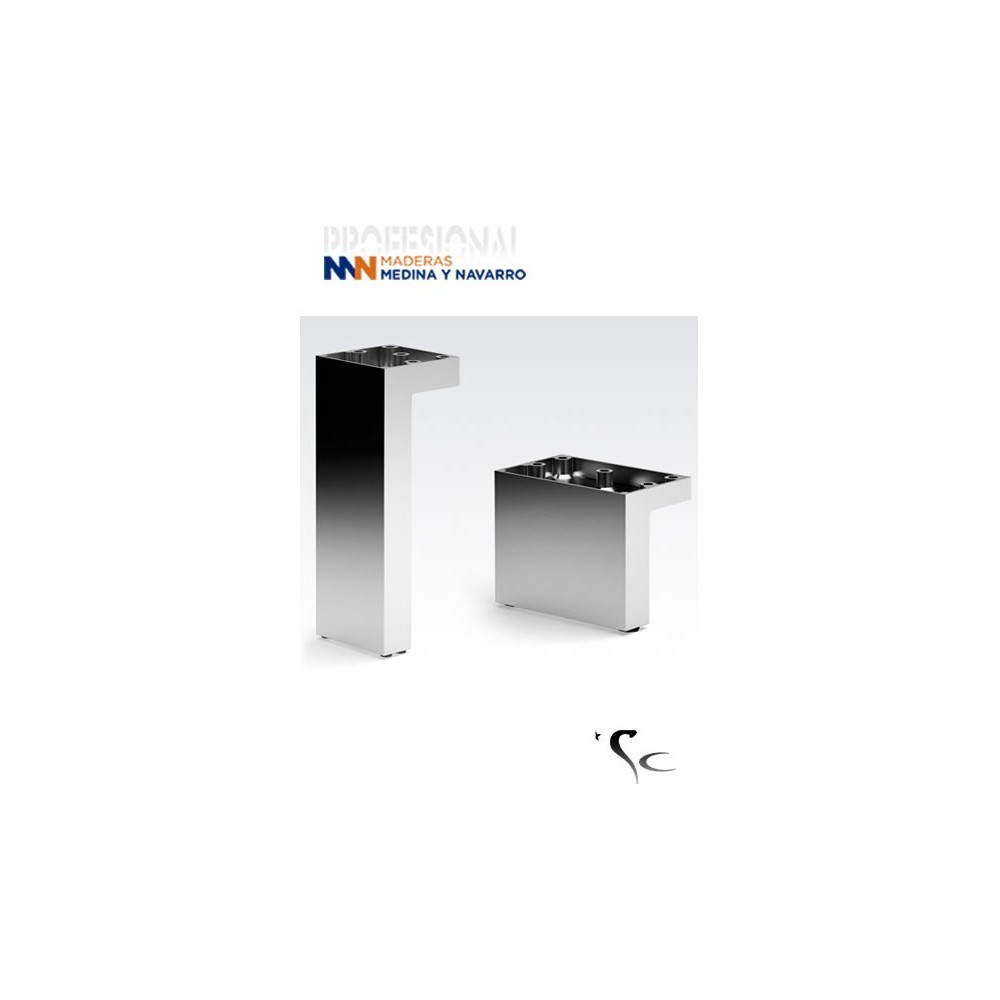 Pata aluminio para mueble SC Herrajes Mod 22