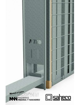Estructura para puertas correderas Saheco Boxkel