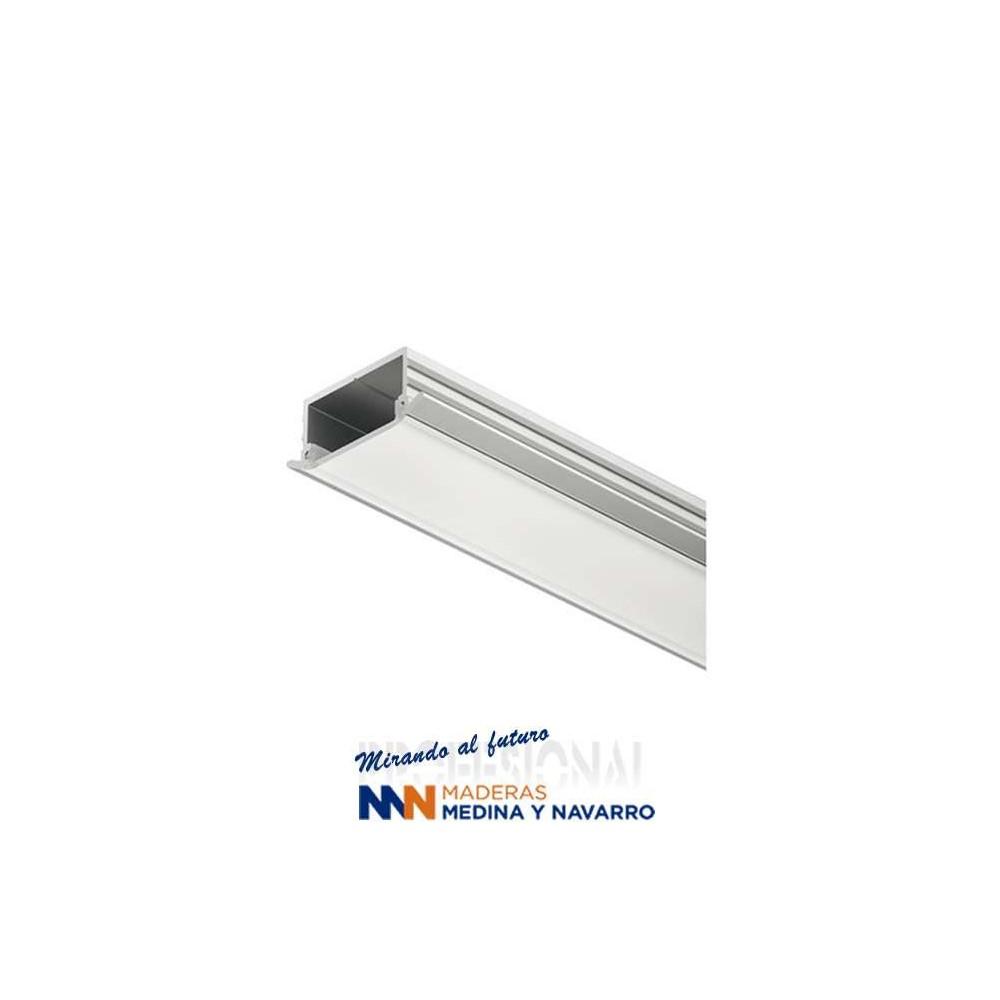 Perfil de aluminio 6,5 mm