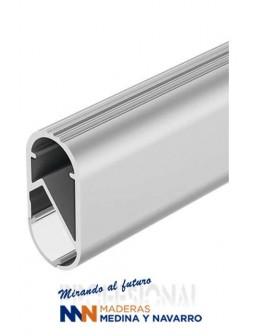 Barra de armario hecha en aluminio para iluminación LED