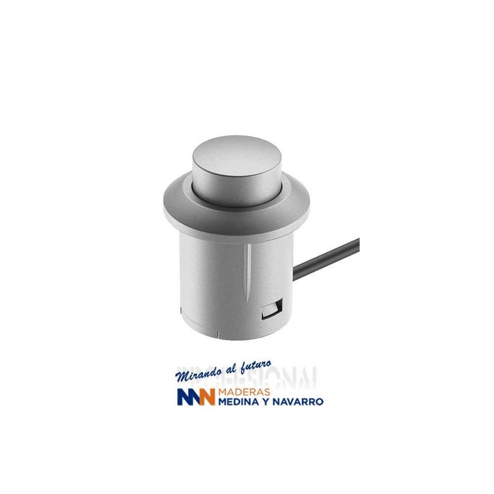 Interruptor por presión gris