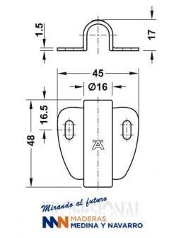 Manillas Luxemburgo 199/42K Hoppe DuraPlus®