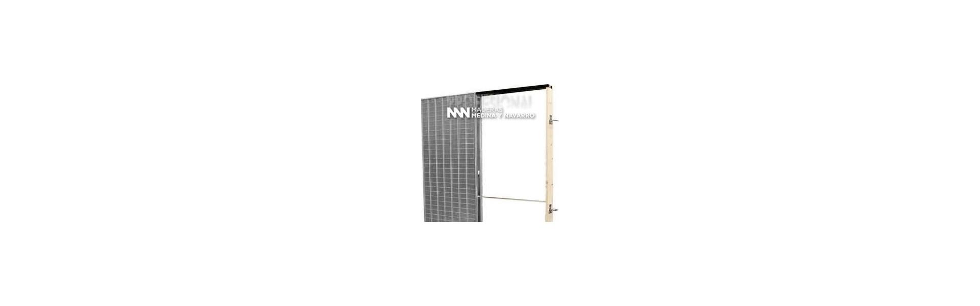 Estructuras metálicas para puerta