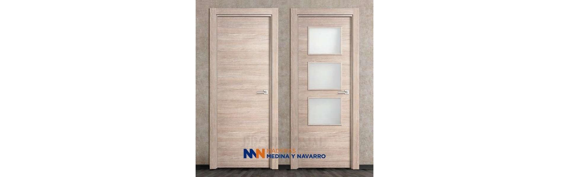 Puertas laminadas para interior