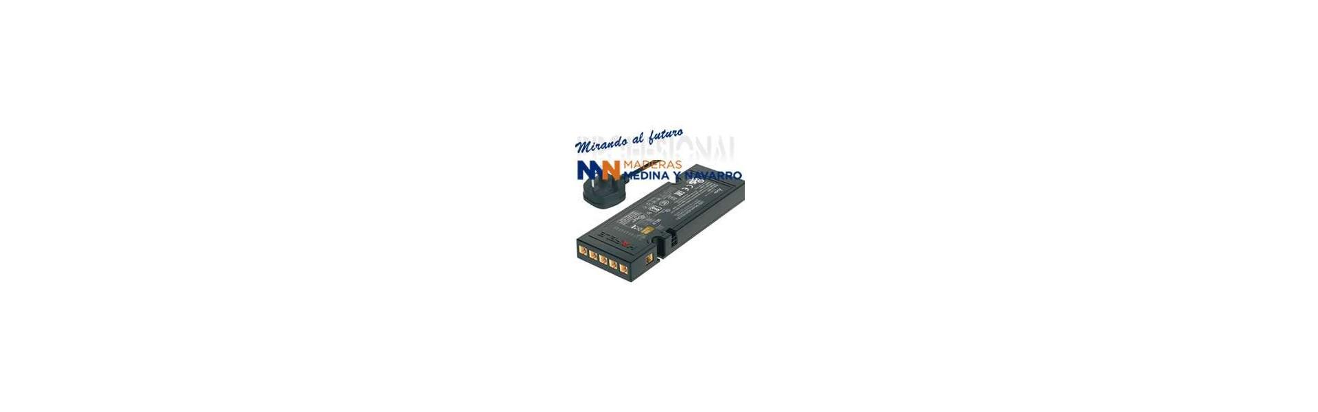 Transformadores y cables de alimentación
