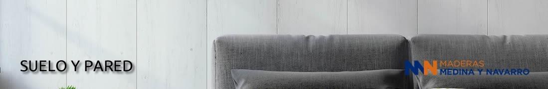 Suelo y pared de madera o sintético