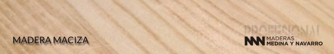 Maderas para trabajos de ebanistería, construcción y carpintería