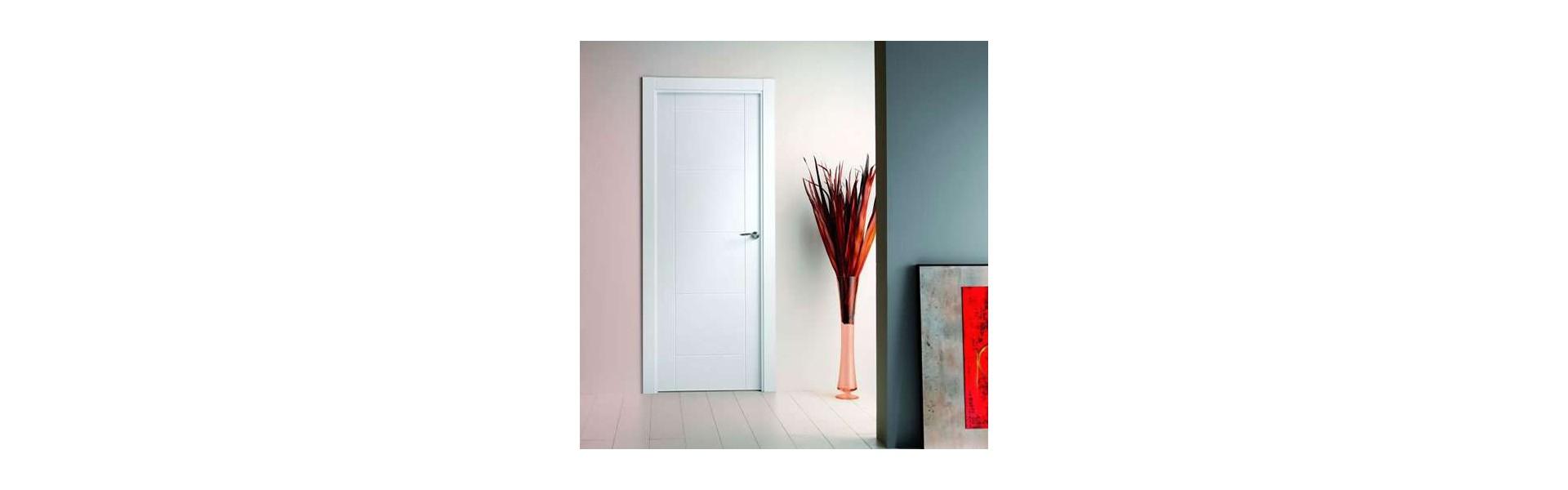 Puertas de interior lacadas