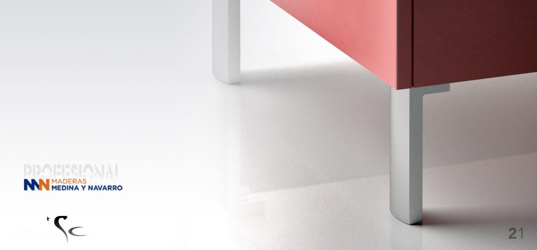 Pata para mueble decorativa Mod 21SC Herrajes