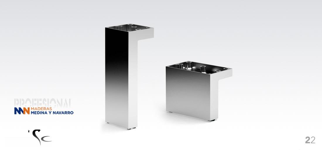 Pata para mueble decorativa Mod 22 SC Herrajes