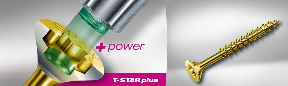 Tornillo Spax T-Star Plus Bicromatado