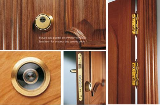 Características de puertas blindadas PROMA