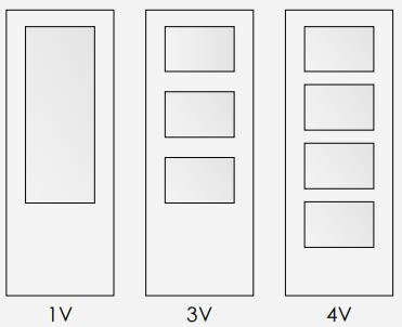 Opciones de vidriera
